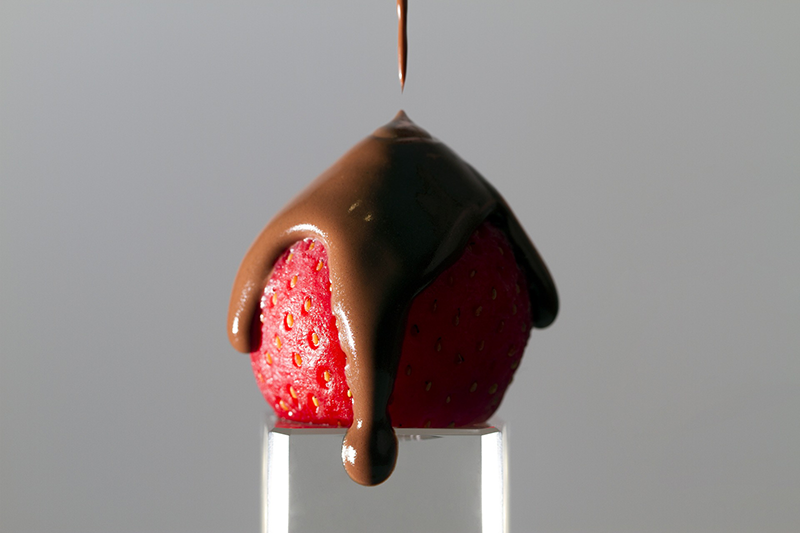 national strawberry day - wild strawberry in dark chocolate - SAS - Safe Accessible Solutions